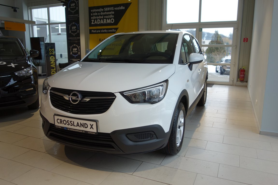 Opel Crossland X Enjoy 1,2 Turbo