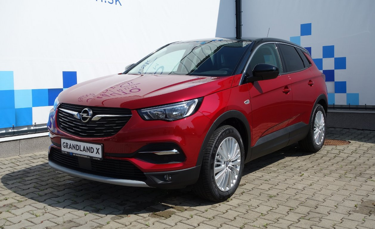 Opel Grandland X 1,2 Turbo Smile AT