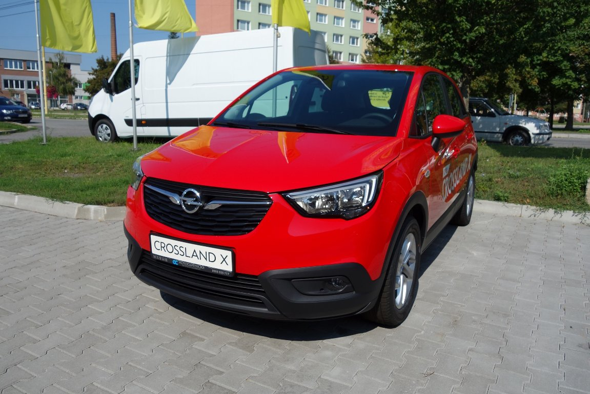 Opel Crossland X 1,2 Smile